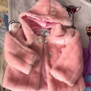Baby girls 9-12 months mud pie jacket